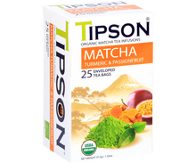 Load image into Gallery viewer, Organic Matcha Turmeric & Passionfruit