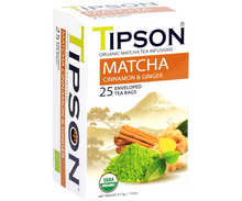 Load image into Gallery viewer, Organic Matcha Cinnamon & Ginger