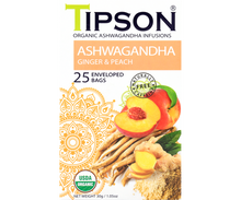 Load image into Gallery viewer, Organic Ashwagandha With Ginger & Peach