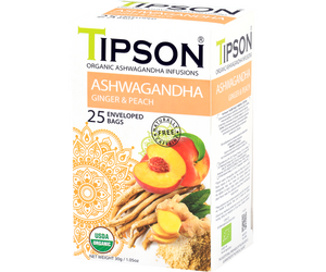 Organic Ashwagandha With Ginger & Peach