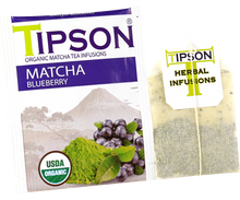 Load image into Gallery viewer, Organic Matcha Blueberry (6 Pack)