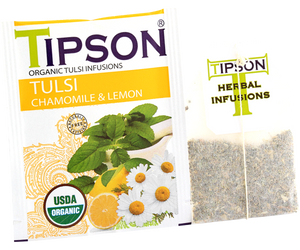 Organic Tulsi With Camomile Lemon