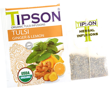 Load image into Gallery viewer, Organic Tulsi With Ginger Lemon