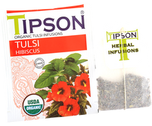 Load image into Gallery viewer, Organic Tulsi With Hibiscus