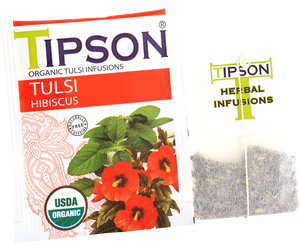 Organic Tulsi With Hibiscus