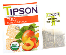 Load image into Gallery viewer, Organic Tulsi With Mango Peach