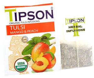 Organic Tulsi With Mango Peach