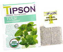 Load image into Gallery viewer, Organic Tulsi With Peppermint