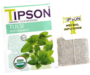 Organic Tulsi With Peppermint