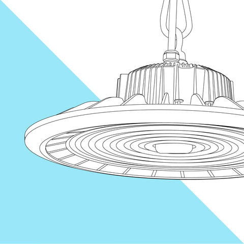100W LED UFO High Bay