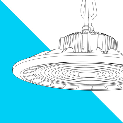 150W LED UFO High Bay