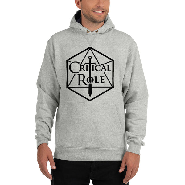 Champion Critical Role Merch  Hoodie