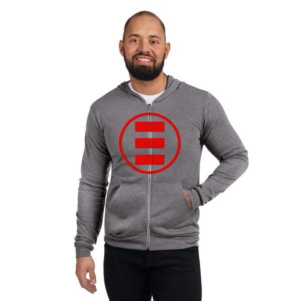 Logic Merch Unisex zip hoodie