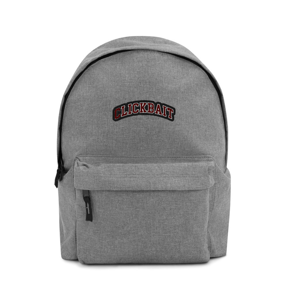David Dobrik Clickbait Embroidered Backpack - MillionMerch