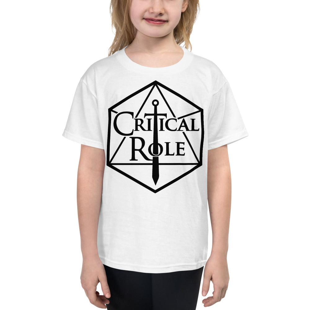 Youth Short Sleeve Critical Role Merch T-Shirt - MillionMerch