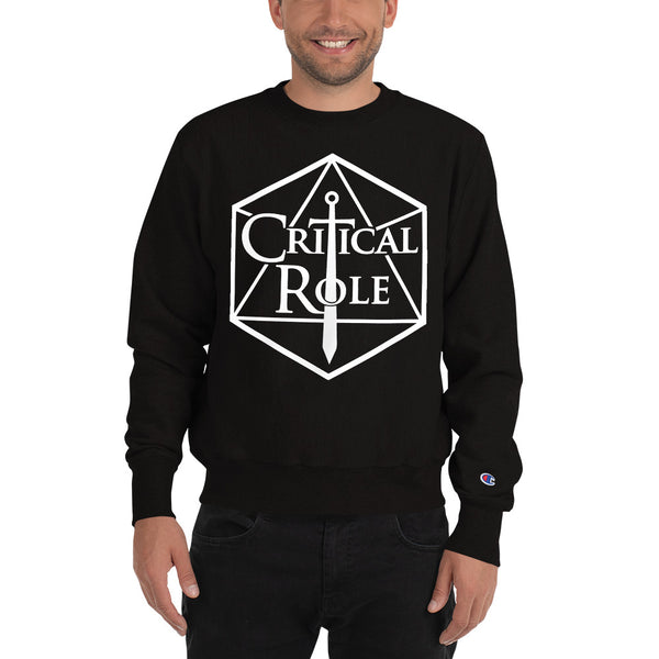 Champion Critical Role Merch Sweatshirt - MillionMerch