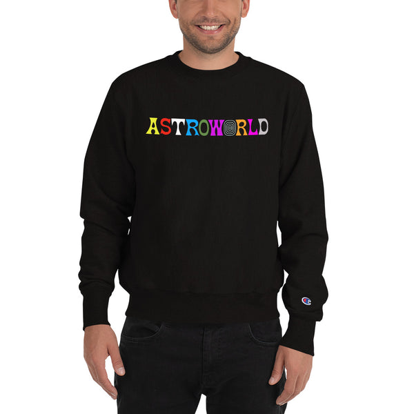 ASTROWORLD Travis Scott Champion Sweatshirt For Men and Women - MillionMerch