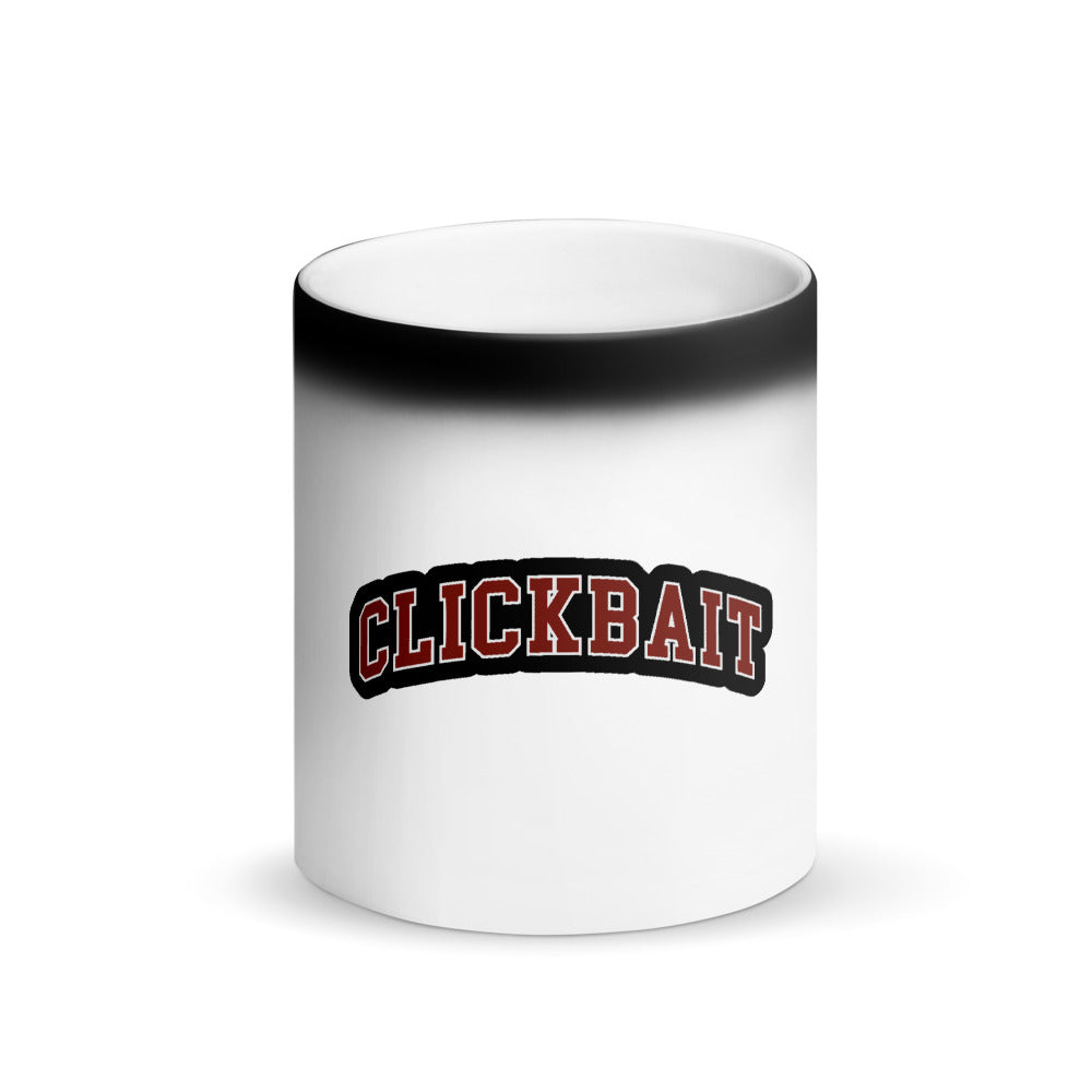 David Dobrik Clickbait Matte Black Magic Mug - MillionMerch