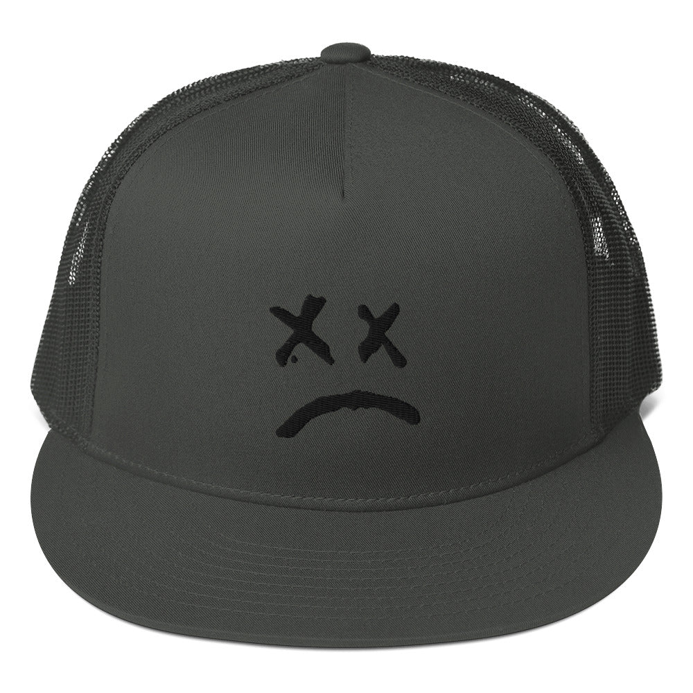 Lil Peep Sad Face Mesh Back Snapback
