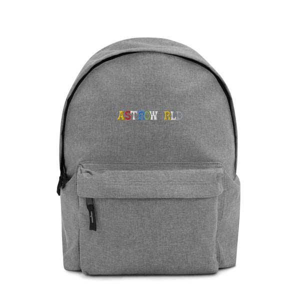 Travis Scott AstroWorld Embroidered Backpack - MillionMerch