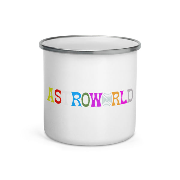 Travis Scott AstroWorld Enamel Mug - MillionMerch