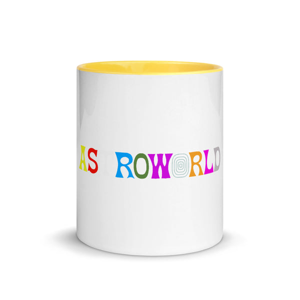 Travis Scott AstroWorld Mug with Color Inside - MillionMerch