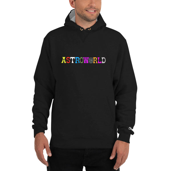 ASTROWORLD Travis Scott Champion Hoodie for men and women - MillionMerch