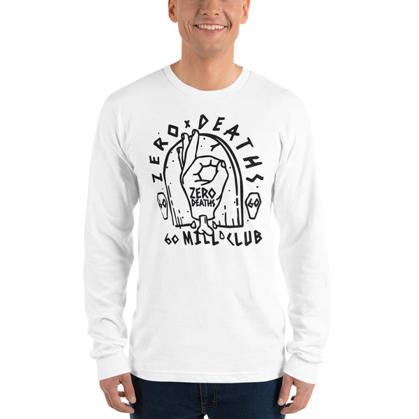 Pewdiepie Zero Death Long sleeve t-shirt - MillionMerch