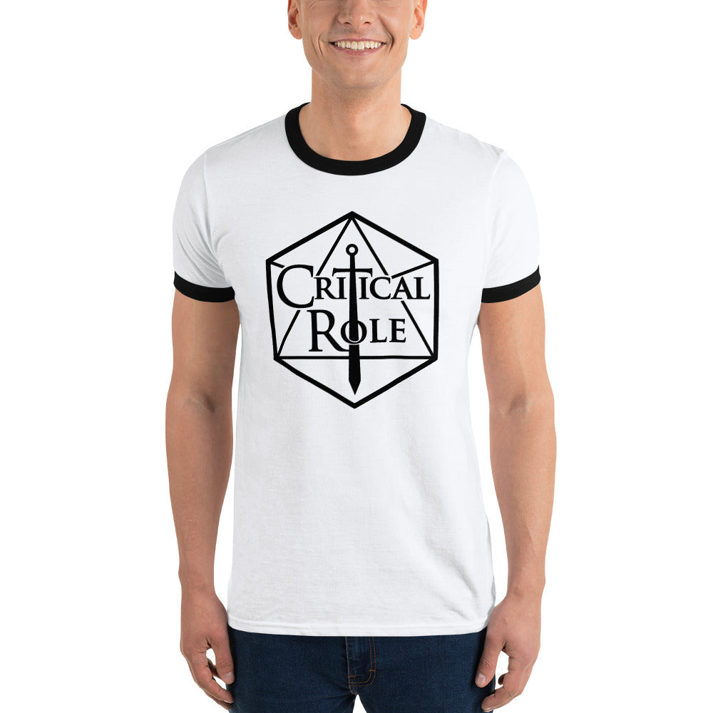 Ringer T-Shirt Critical Role Merch - MillionMerch
