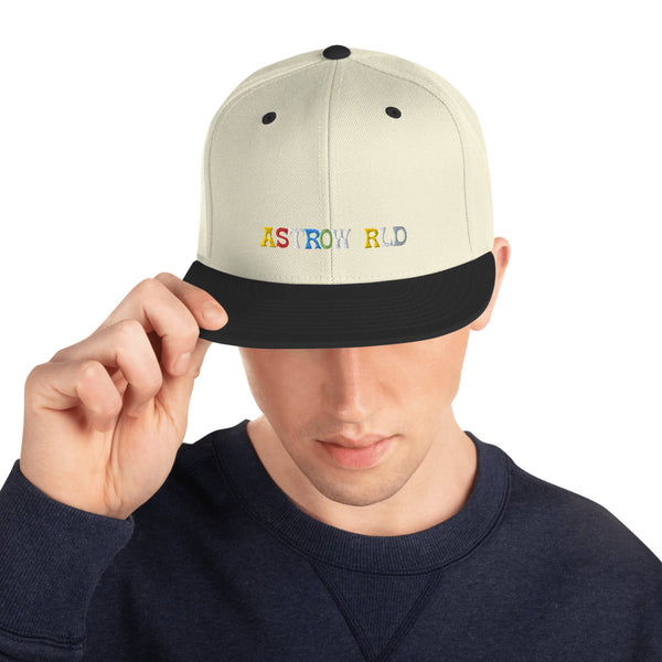 Travis Scott AstroWorld Snapback Hat for Men and Women