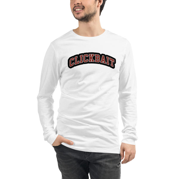 David Dobrik Clickbait Unisex Long Sleeve Tee - MillionMerch