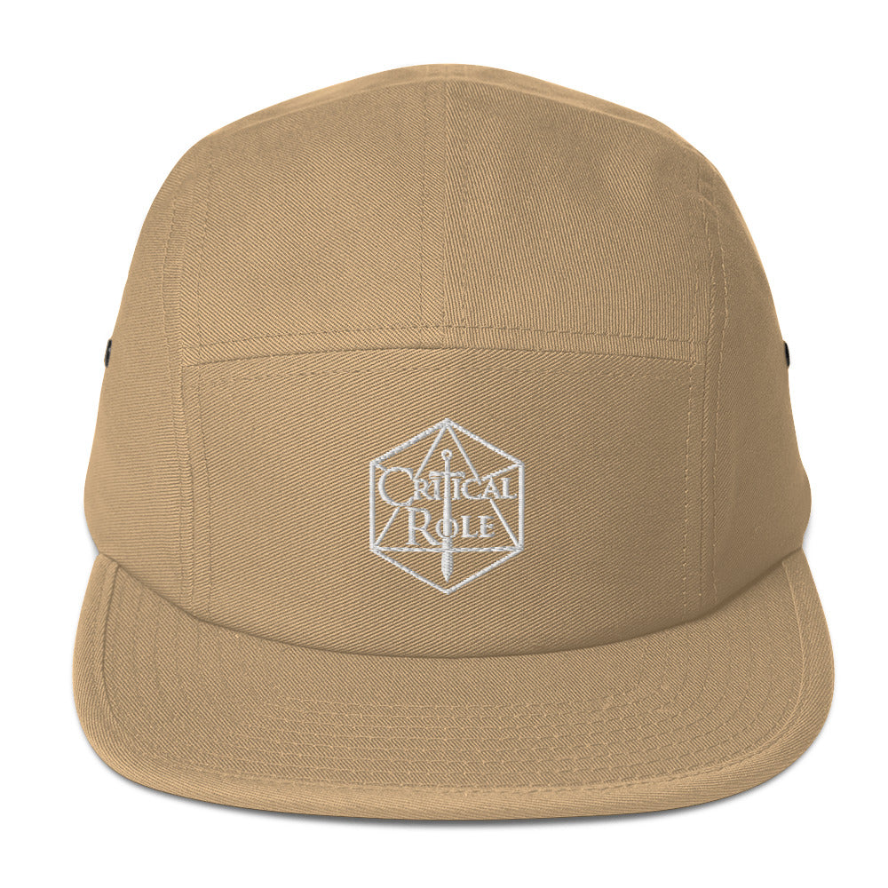 Five Panel Critical Role Merch Cap - MillionMerch