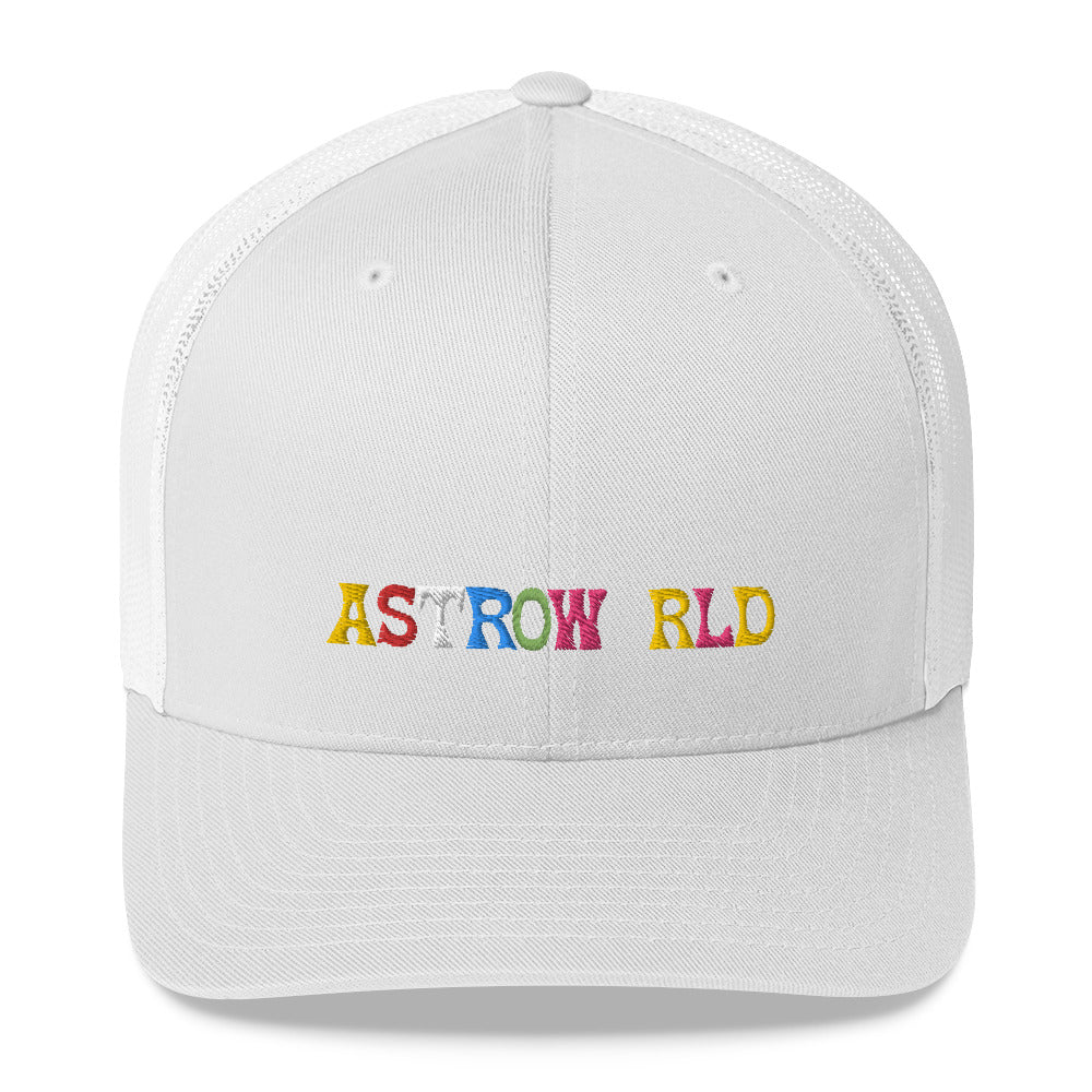 Travis Scott Astroworld Trucker Cap For Men and Women - MillionMerch