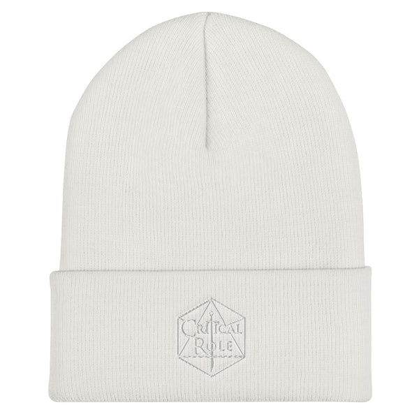 Critical Role Merch Cuffed Beanie