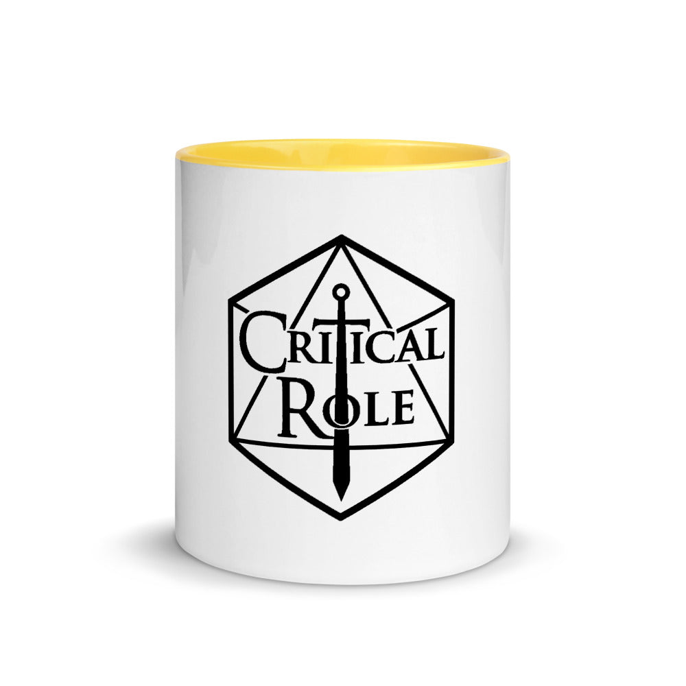 Critical Role Merch Mug with Color Inside - MillionMerch