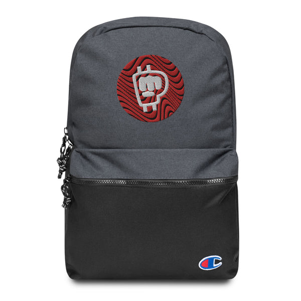 Pewdiepie LWIAY Embroidered Champion Backpack