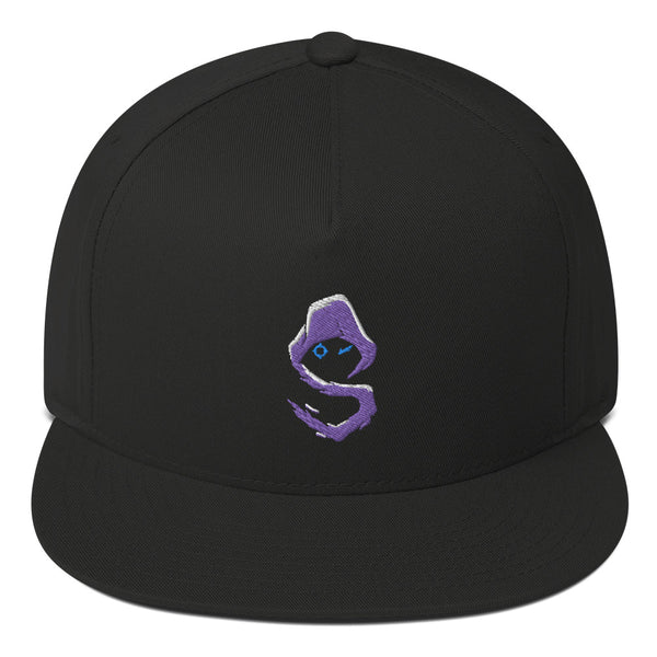 Shroud Merch Flat Bill Cap