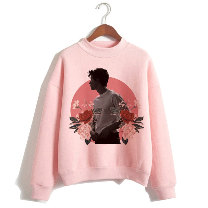 Shawn Mendes hip hop  Long Sleeve Pullovers Oversized sweatshirt