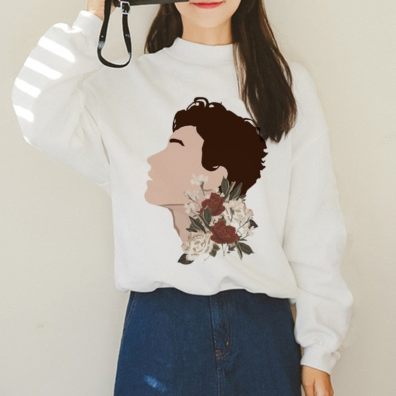 Shawn Mendes Printed Hoodie & Sweatshirt - 90s Fashion Sweatshirts - MillionMerch