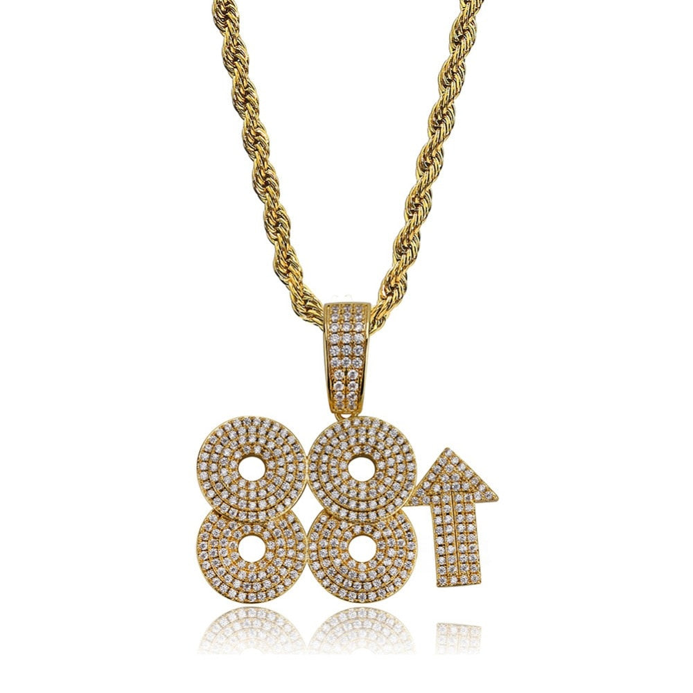 88rising Rich Pendant Necklace
