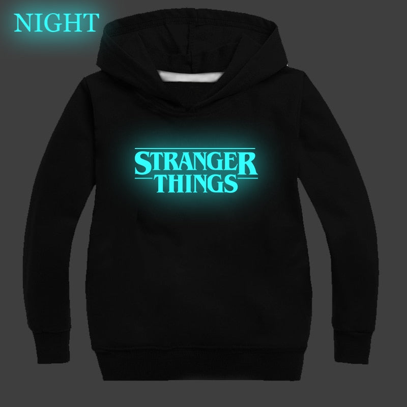 Luminous stranger things hoodie