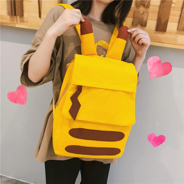 Soft Pikachu Latest Travel Backpack
