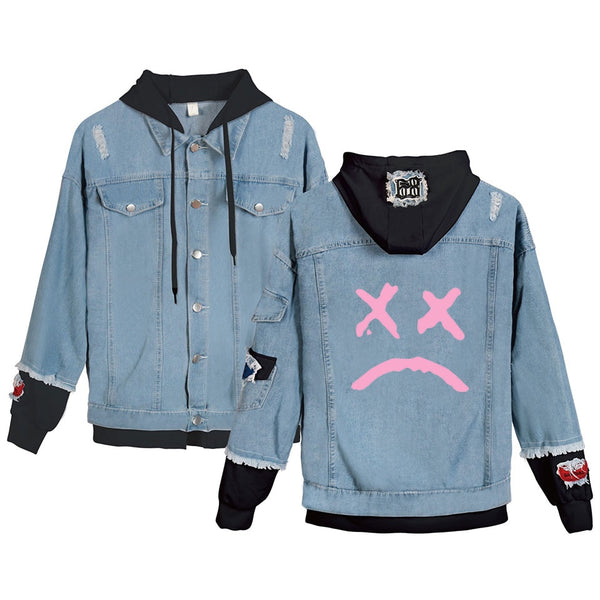 Lil Peep Cry Baby Denim Jacket
