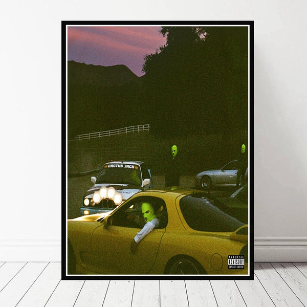 Jackboys & Travis Scott Painting Poster For Home Room Decor - MillionMerch
