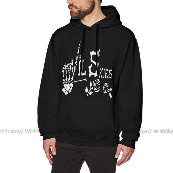 Lil Skies Long Length Warm Pullover Hoodie