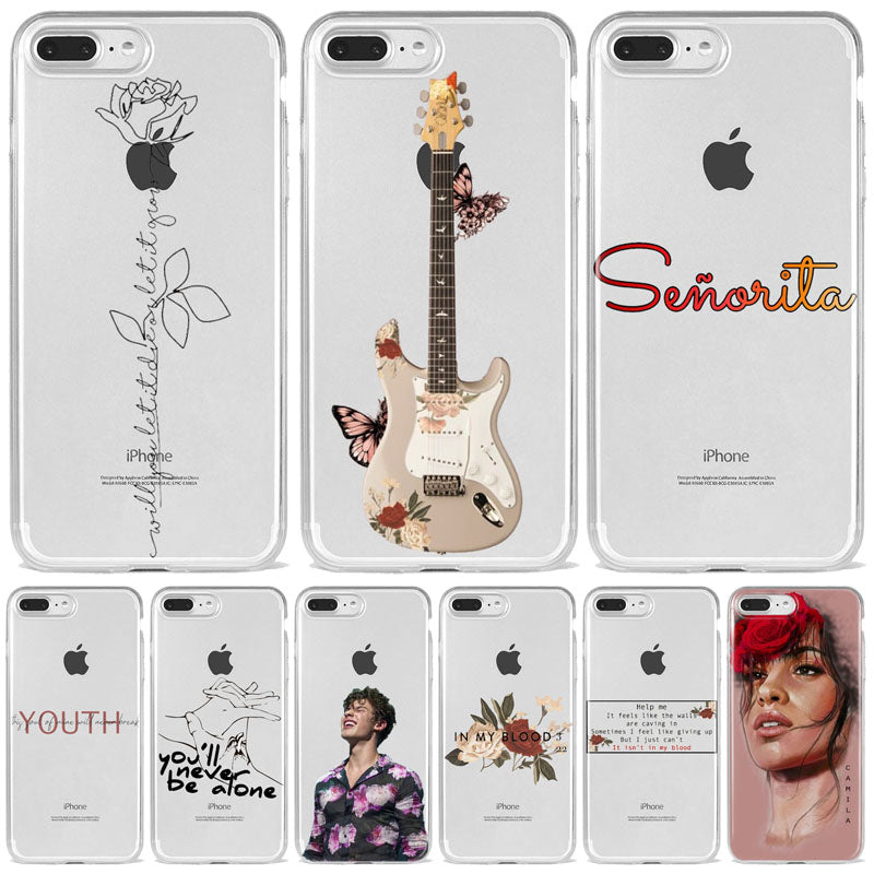 Best Quality Shawn Mendes Silicone Phone Cases For iPhone - MillionMerch