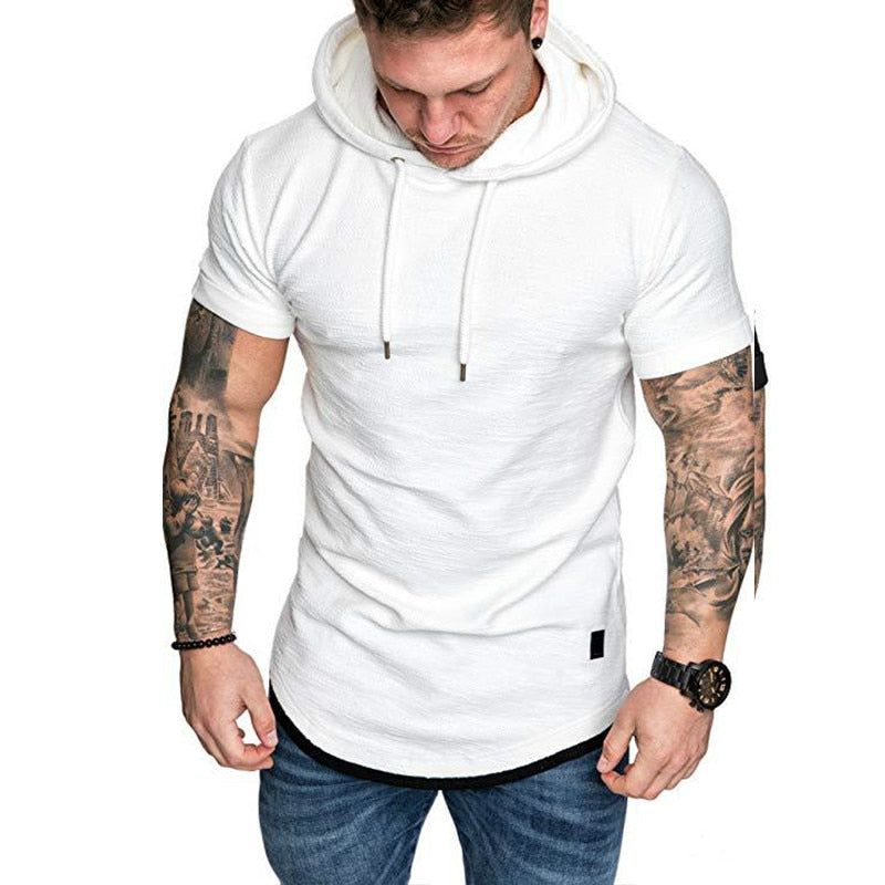 Stylish Men's Casual Pullover Hoodie