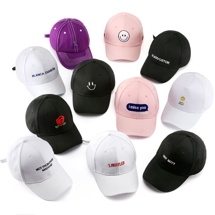 Korea Men Sport Letter Embroidery Cap - MillionMerch