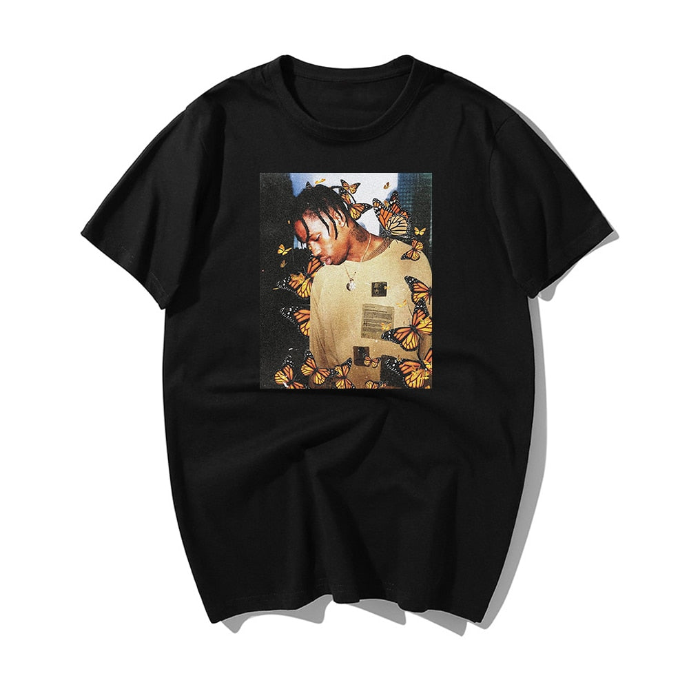 2020 Travis Scott Butterfly T Shirt - MillionMerch