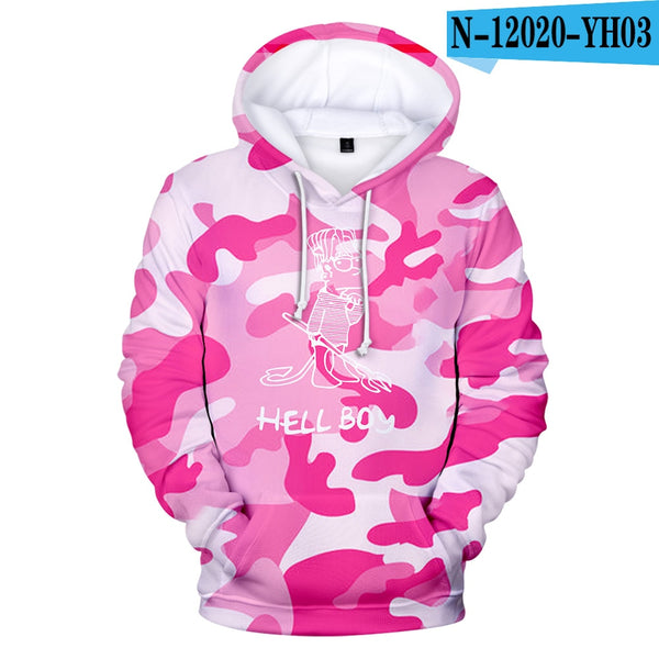 Lil Peep 3D Hoodies for Men/Women/Kids